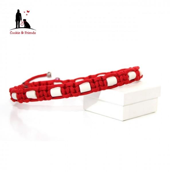 EM-Keramik Halsband Cobra - Imperial Red