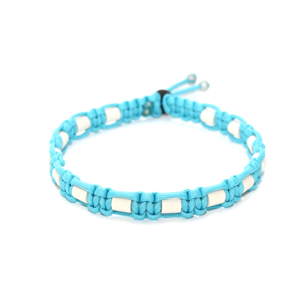 EM-Keramik Halsband Cobra - Neon Türkis