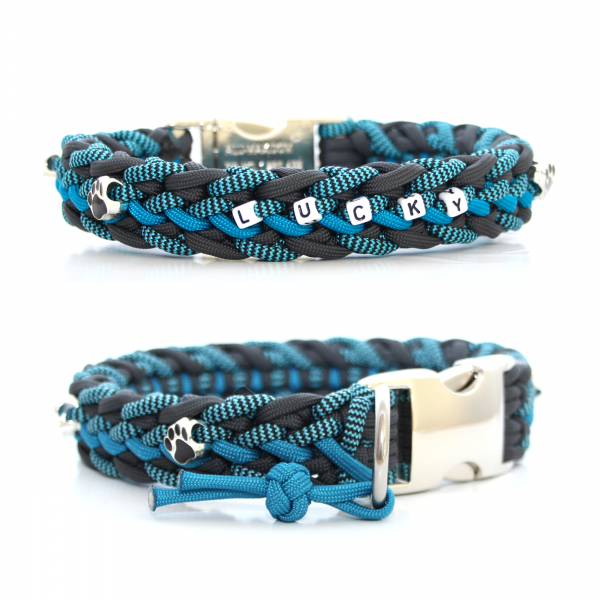 Paracord Halsband Floating Colors - Farben nach Wahl
