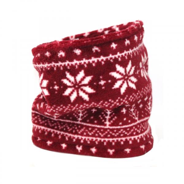 Hundeloop - Norweger Style- Rot