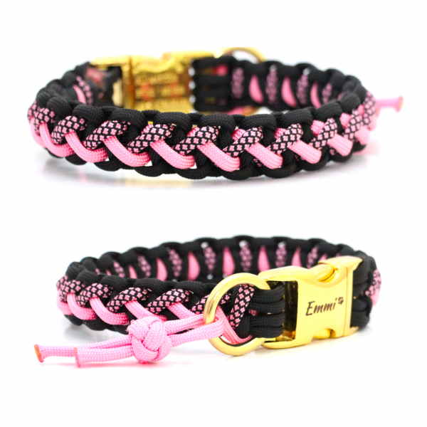 Paracord Halsband Floating Colors Smal - Farben nach Wahl