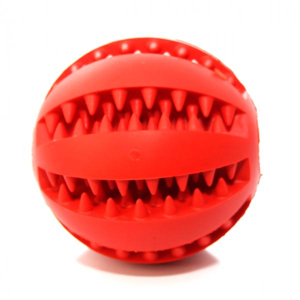 Zahnpflegeball - Rot