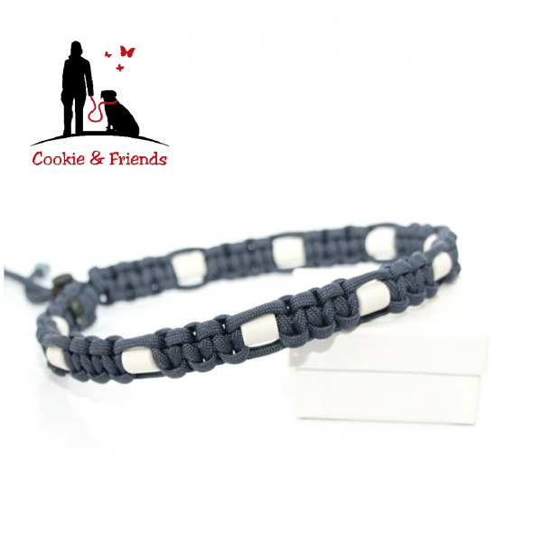 EM-Keramik Halsband Cobra - Navy Blue
