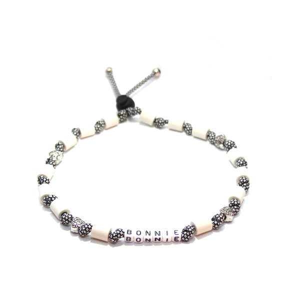 EM-Keramik Halsband Classic - Silver Diamonds