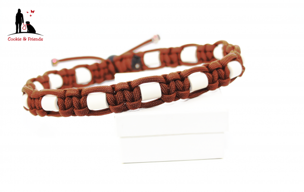 EM-Keramik Halsband Cobra - Chocolate Brown