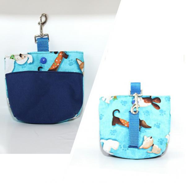 Bag & Snack Dogs - Blue