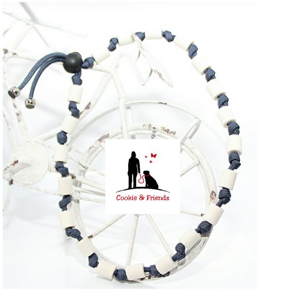 EM-Keramik Halsband Classic - Navy Blue