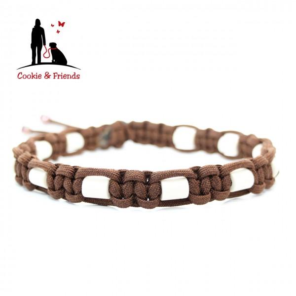 EM-Keramik Halsband Cobra - Walnut Brown