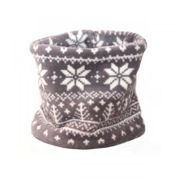 Hundeloop - Norweger Style- Grau