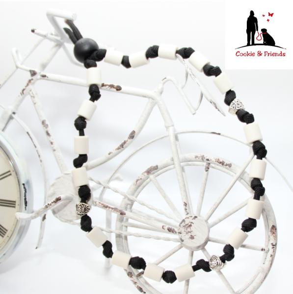 EM-Keramik Halsband Classic - Schwarz