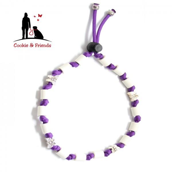 EM-Keramik Halsband Classic - Acid Purple