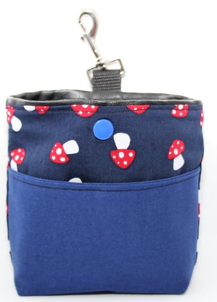 Bag & Snack Glückspilz - Blau
