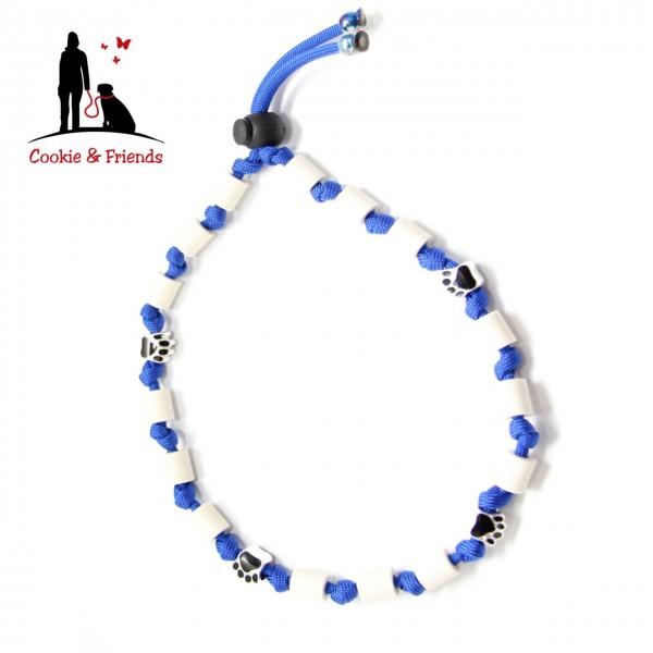EM-Keramik Halsband Classic - Electric Blue