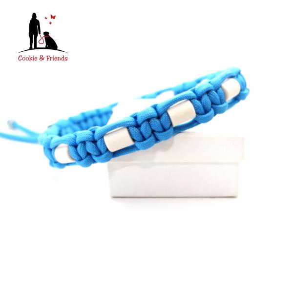 EM-Keramik Halsband Cobra - Colonial Blue