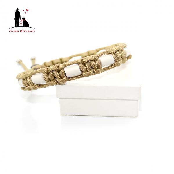 EM-Keramik Halsband Cobra - Gold