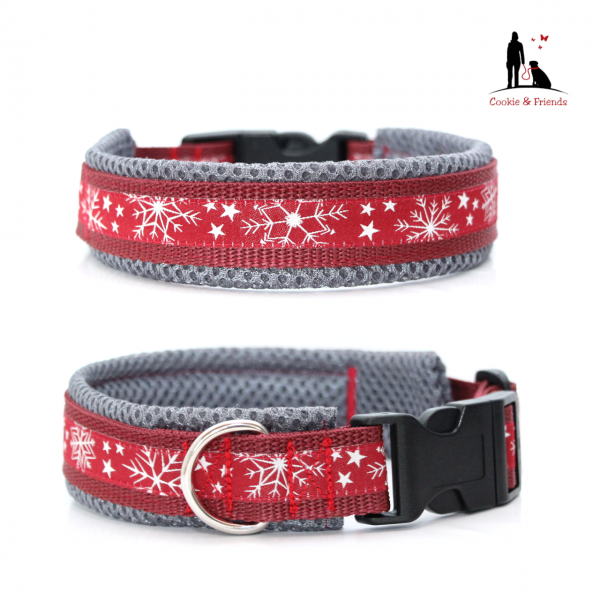 Snowflakes-Red