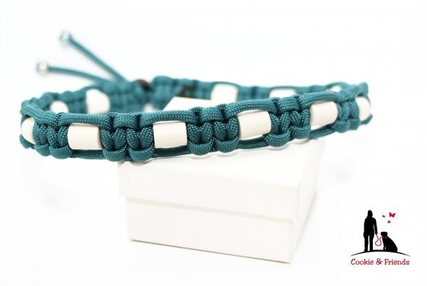 EM-Keramik Halsband Cobra - Teal