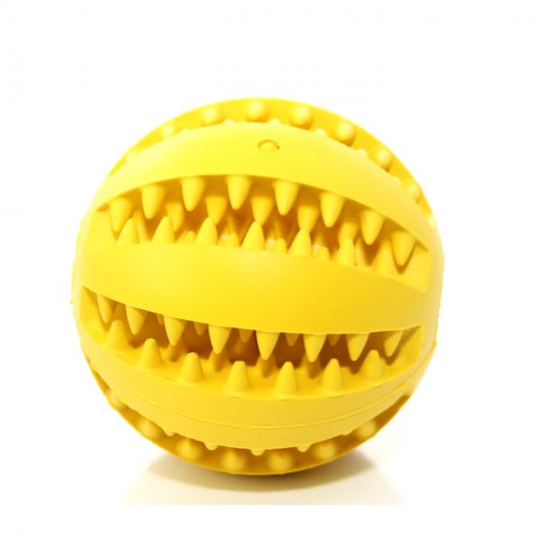 Zahnpflegeball - Gelb