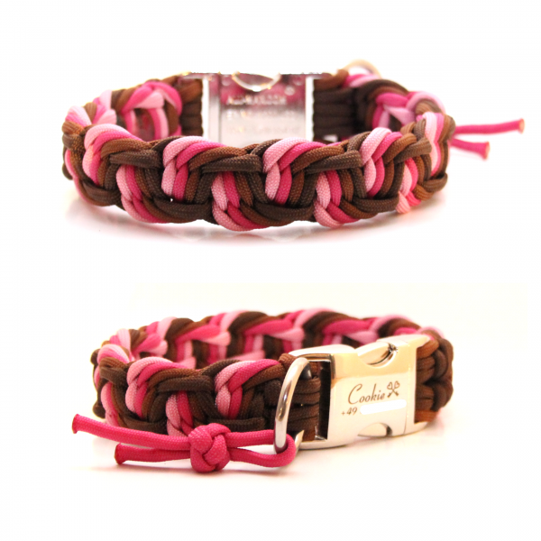 Paracord Halsband Dance - Farben nach Wahl