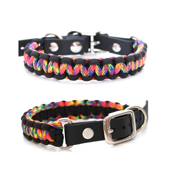 Paracord Halsband Cobra - Farben nach Wahl