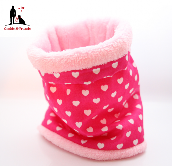 Hundeloop - Hearts Pink