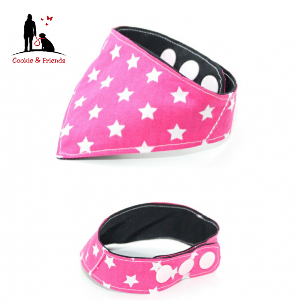 Halstuch Pink Stars