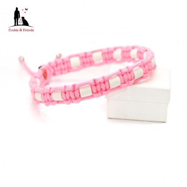 EM-Keramik Halsband Cobra - Rose Pink