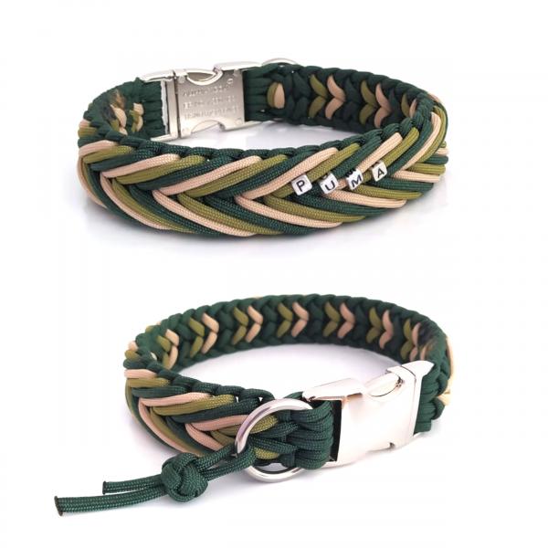 Paracord Halsband Arrow - Farben nach Wahl