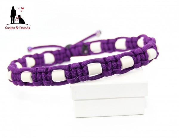 EM-Keramik Halsband Cobra - Acid Purple
